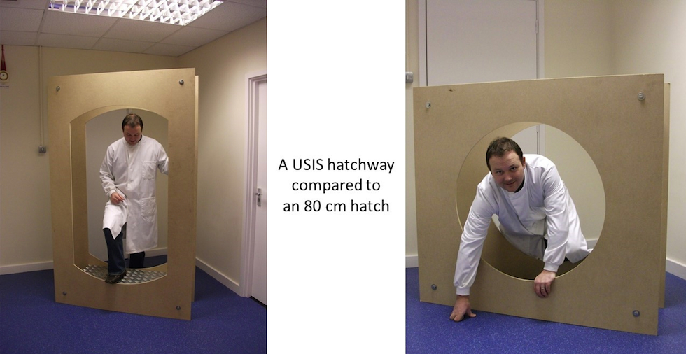 USIS hatchway comparison